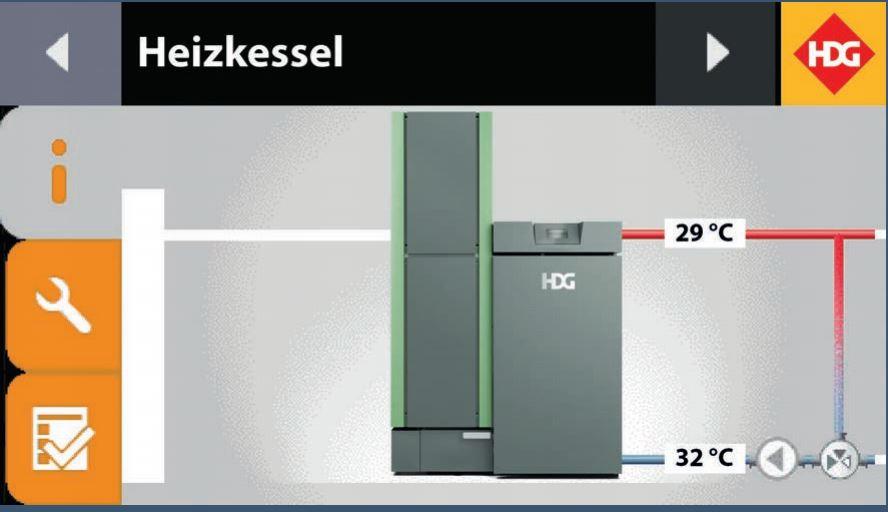 """HDG Control XL con Touchscreen 7"""""""