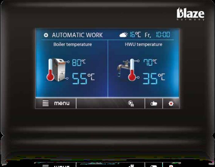 CONTROLLO REMOTO - Blaze Harmony Gasification Boiler Automatic Controller Ecomax 860