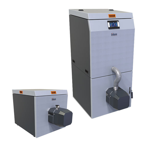 Blaze – Caldaia a pellet automatica ROTARY PELL Compact | Renotech
