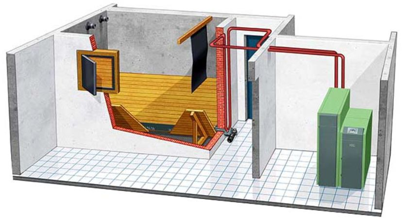 Aspirazione del pellet da un vano attrezzato 2 | sistema di caricamento