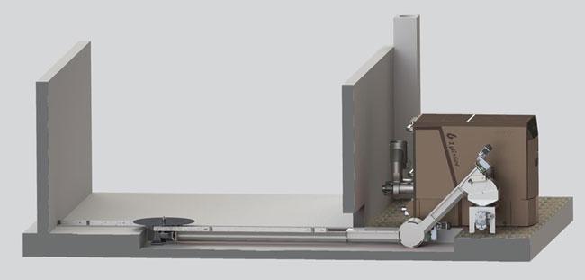 Estrazione industriale con coclea di risalita 45°   | dettagli tecnici